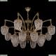 1772/16/342/GB Большая хрустальная подвесная люстра Bohemia Ivele Crystal (Богемия)