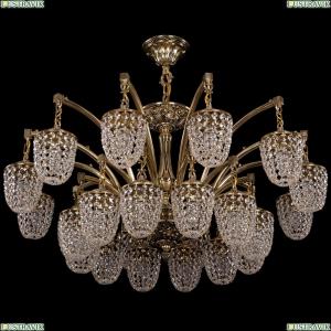 1772/24/342/GB Большая хрустальная подвесная люстра Bohemia Ivele Crystal (Богемия)