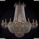 2022/160-170/GB Большая хрустальная подвесная люстра Bohemia Ivele Crystal (Богемия)