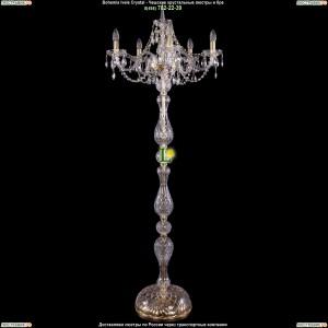 5506/5/195-160/G Торшер Bohemia Ivele Crystal (Богемия)