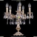 1702L/5/125-51/A/GW Настольная лампа с элементами художественного литья и хрусталем Bohemia Ivele Crystal (Богемия)
