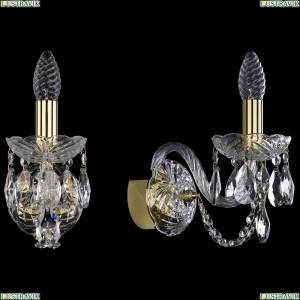 1400/1/G Хрустальное бра Bohemia Ivele Crystal (Богемия)