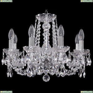 1402/8/160/Ni Хрустальная подвесная люстра Bohemia Ivele Crystal (Богемия)