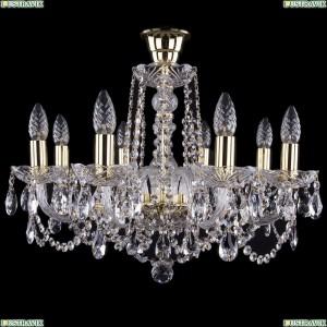 1402/8/195/G/tube Хрустальная подвесная люстра Bohemia Ivele Crystal (Богемия)