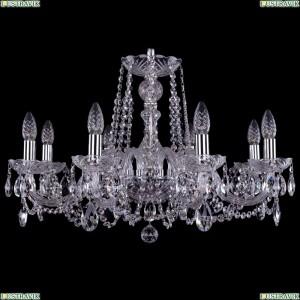 1402/8/240/Ni Хрустальная подвесная люстра Bohemia Ivele Crystal (Богемия)