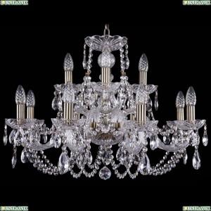 1406/8+4/240/Pa Хрустальная подвесная люстра Bohemia Ivele Crystal (Богемия)