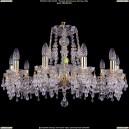 1410/10/240/G/V0300 Хрустальная люстра Bohemia Ivele Crystal (Богемия)