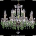1410/8/160/Pa/V5001 Хрустальная подвесная люстра Bohemia Ivele Crystal (Богемия)