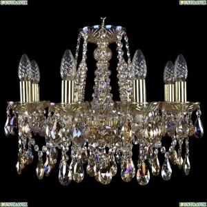 1413/8/165/G/M701 Хрустальная подвесная люстра Bohemia Ivele Crystal (Богемия)