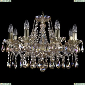 1413/8/200/G/M701 Хрустальная подвесная люстра Bohemia Ivele Crystal (Богемия)