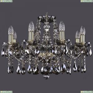 1413/8/200/G/M731 Хрустальная подвесная люстра Bohemia Ivele Crystal (Богемия)