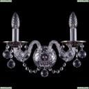 1600/2/NB/Balls Хрустальное бра Bohemia Ivele Crystal (Богемия)