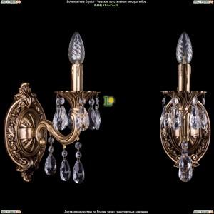 1700/1/A/FP Хрустальная бра  Bohemia Ivele Crystal (Богемия)