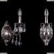 1702B/1/175/A/NB Хрустальное бра Bohemia Ivele Crystal (Богемия)