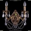 1702B/2/175/C/FP Хрустальное бра Bohemia Ivele Crystal