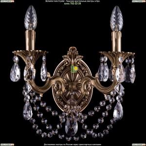 1700/2/C/FP Хрустальная бра  Bohemia Ivele Crystal (Богемия)