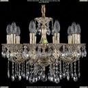1701/10/A/GW Хрустальная подвесная люстра Bohemia Ivele Crystal (Богемия)