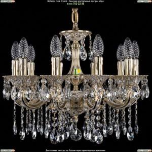 1701/10/A/GW Хрустальная люстра Bohemia Ivele Crystal (Богемия)