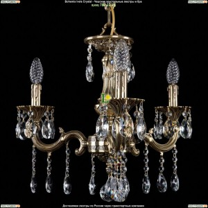 1701/3/A/GB Хрустальная люстра Bohemia Ivele Crystal (Богемия)