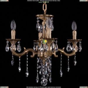 1701/4/B/FP Хрустальная люстра Bohemia Ivele Crystal (Богемия)