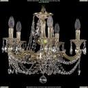 1702/5/CK175IV/C/GI Хрустальная подвесная люстра Bohemia Ivele Crystal (Богемия)