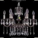 1702/6/CK175IV/A/NB Хрустальная подвесная люстра Bohemia Ivele Crystal (Богемия)
