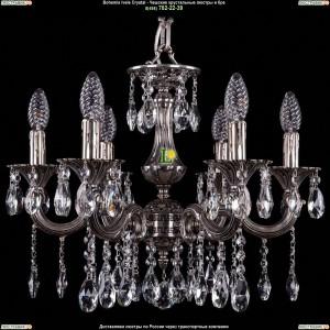 1701/6/A/NB Хрустальная люстра Bohemia Ivele Crystal (Богемия)