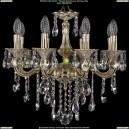 1702/8/CK175IV/B/GI Хрустальная подвесная люстра Bohemia Ivele Crystal (Богемия)