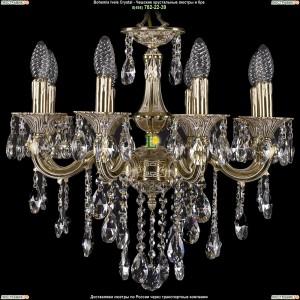 1701/8/B/GI Хрустальная люстра Bohemia Ivele Crystal (Богемия)