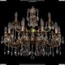 1702/10+5/265+181/A/GB Хрустальная подвесная люстра Bohemia Ivele Crystal (Богемия)