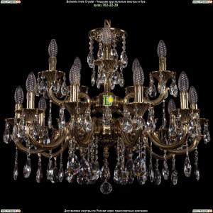 1702/10+5/265+181/A/GB Хрустальная люстра Bohemia Ivele Crystal (Богемия)