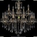 1702/10+5/265+181/B/GB Хрустальная подвесная люстра Bohemia Ivele Crystal (Богемия)