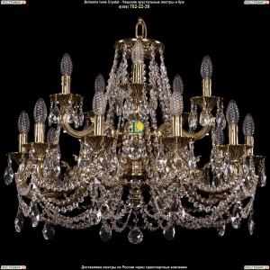1702/10+5/265+181/C/GB Хрустальная люстра Bohemia Ivele Crystal (Богемия)