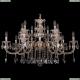 1702/7+7/300+150/A/GW Хрустальная подвесная люстра Bohemia Ivele Crystal (Богемия)