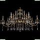 1703/14/360/A/GB Хрустальная подвесная люстра Bohemia Ivele Crystal (Богемия)