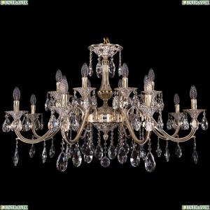 1703/16/360/A/GW Хрустальная подвесная люстра Bohemia Ivele Crystal (Богемия)