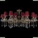 1703/18/320+210/A/GB/SH22 Хрустальная большая люстра Bohemia Ivele Crystal (Богемия)