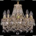 1702/14/CK125IV/C/GW Хрустальная подвесная люстра Bohemia Ivele Crystal (Богемия)
