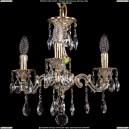 1707/3/125/A/GW Хрустальная подвесная люстра Bohemia Ivele Crystal (Богемия)