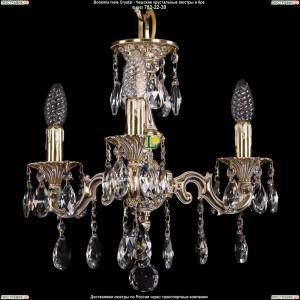 1707/3/125/A/GW Хрустальная люстра Bohemia Ivele Crystal (Богемия)