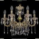 1702/6/CK125IV/A/GI Хрустальная подвесная люстра Bohemia Ivele Crystal (Богемия)