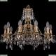 1771/10/190/A/FP Хрустальная подвесная люстра Bohemia Ivele Crystal (Богемия)