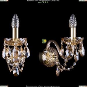 1400/1/G/BIG/M721 Хрустальная бра Bohemia Ivele Crystal (Богемия)