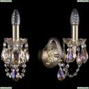 1402B/1/141/G/M701 Хрустальное бра Bohemia Ivele Crystal