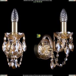 1400/1/G/M721 Хрустальная бра Bohemia Ivele Crystal (Богемия)