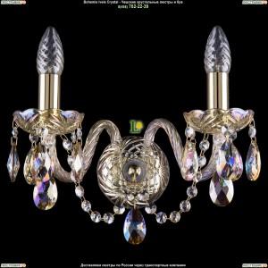 1400/2/G/M701 Хрустальная бра Bohemia Ivele Crystal (Богемия)