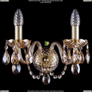 1400/2/G/M721 Хрустальная бра Bohemia Ivele Crystal (Богемия)