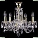 1402/5/141/G/Tube Хрустальная подвесная люстра Bohemia Ivele Crystal