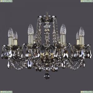 1402/8/195/G/M731 Хрустальная подвесная люстра Bohemia Ivele Crystal (Богемия)