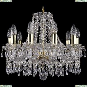 1403/10/160/G Хрустальная подвесная люстра Bohemia Ivele Crystal (Богемия)